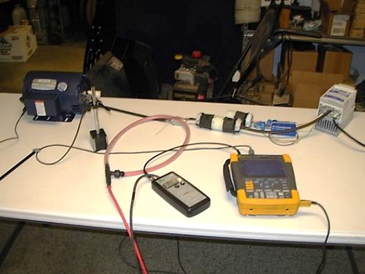 Topeka Test Setup